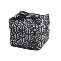 X-Large Cosmetic Bag, Jet Set Black   http://www.bonkersforbags.com/cinda-b-x-large-cosmetic-bag?variantId=1172
