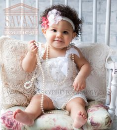 White Lace Petti Romper, baby rompers, lace romper, baby girls outfit, Baby Romper,flower girl, baptism,baby Christening, dedication outfit on Etsy, $15.99