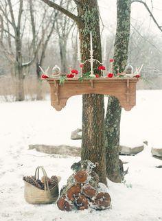 Winter wedding www.MadamPaloozaEmporium.com www.facebook.com/MadamPalooza