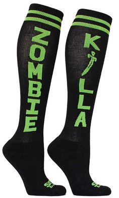 ZOMBIE KILLA Knee High Socks