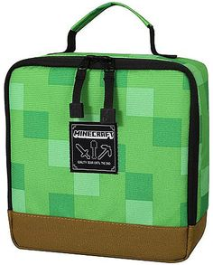 130ae2862e52 10+ OUTCLASS MINECRAFT BACKPACK IN 8-BIT STYLE. Minecraft BackpackInsulated  Lunch BagsCreeperBackpacksCreeper ...