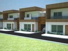 Our Top 10 Modern house designs – Modern Home Modern Barn House, Modern House Facades, Row House Design, Dream Home Design, Tiny House Rentals, Townhouse Exterior, Model House Plan, Latest House Designs, Building Images