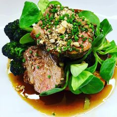 Recipe of the day: Roast Scotch Lamb rump with a Dukkah Crust on Local Tatties & Scottish Summer Greens by Jak O Donnell, Chef Proprietor of The Sisters Restaurants in Glasgow