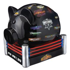 pSave up your change with this Official WWE Superstar Piggy Bank!br /