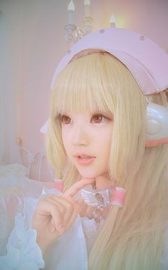 This is possibly the best Chii cosplay I've seen!