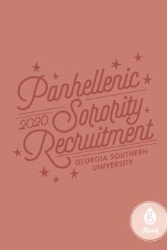 Sorority | Recruitment | Stars | Panhellenic | Geneologie Sorority Canvas, Sorority Paddles, Sorority Crafts, Tri Delta, Delta Gamma, Panhellenic Recruitment, Georgia Southern University, Sorority Big Little, Best Yet