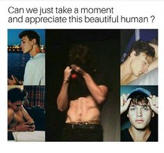 Yes, can we? He's literally the sweetest tall thing in the worl. Like, aw. Look at you. Take my heeeaaart. ♥️ (: