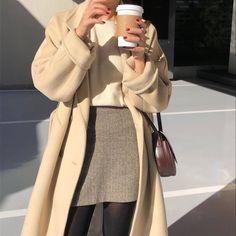 full outfit - kimleytran - Issa look - Retro Mode Outfits, Winter Outfits, Fashion Outfits, Womens Fashion, Korean Spring Outfits, Korean Casual Outfits, Asian Fashion, Look Fashion, Korean Women Fashion