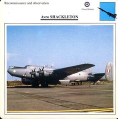 Avro SHACKLETON Reconnaisance Observation Great Britain Military Aircraft Collectors Card This vintage collectors card is in Very Good Condition for age. Please read the full description and see photo. Avro Shackleton, Pencil Drawings Of Animals, Collector Cards, Military Aircraft, Vintage Postcards, Magazine Covers, Great Britain, See Photo, Italy