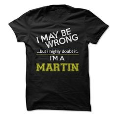 View images & photos of Im a Martin t-shirts & hoodies