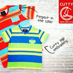 Cutty's Nashville V-Neck celebrates life with bright, bold and beautiful colours in an on-trend stripe patterning. The perfect start to spring, it's made from a comfortable cotton material with ribbed collar and button detailing.#cuttyafrica #cutty