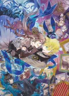 Tags: Anime, Pandora Hearts, Gilbert Nightray, Xerxes Break, Mochizuki Jun