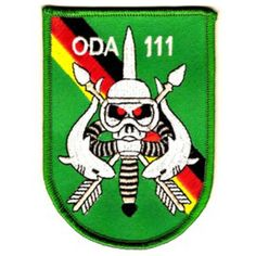 ODA-111 Patch  United States ARMY Co A 1st Battalion 1st Special Forces Group Operational Detachment A...