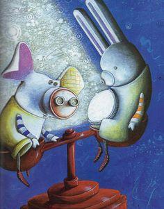 ♥♥♥♥ - Lino, escrito e ilustrado por André Neves. Editora Callis. Lino é um porquinho de brinquedo, aprendendo a lidar com a separação de uma amiga, a luminária de coelha chamada Lua, que desapareceu da loja onde viviam. Um dia é a vez dele de entrar numa caixa e ir para um novo lar. É uma história muito bonita, o Miguel gostou, mas eu gostei mais...