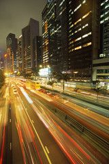 Rush Hour in Hong Kong Light Trails, Rush Hour, Night Time, Hong Kong, Outdoor, Outdoors, Outdoor Games, The Great Outdoors