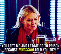 "Emma: ""i LOVED you!"" >>> OUAT, the only place you'd hear something like this at a bar in NYC."