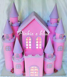 Pinkie Blue Artigos para festa: Castelos de princesa Play School Activities, Seasons Activities, Kids Crafts, Diy Crafts For Gifts, Toilet Roll Craft, Toilet Paper Roll Crafts, Castle Crafts, Baby Quiet Book, Girl Birthday Decorations