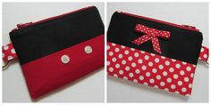 I love having a small .ID. wallet for carrying my id, gift cards, etc. A mini card wallet makes swapping out purses a breeze, and they're also great for keeping things organized when packing a bag to bring when touring the Disney theme parks. These super adorable Mickey and Minnie Mouse card holders from EarlyBirdStitches are just …