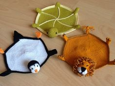 Animal coasters turtle, lion and penguin...many more animals to come!