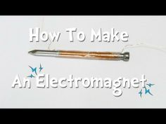 STEM: How To Make An Electromagnet | Make It @ Your Library