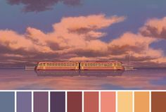 Twitter user Cinema Palettes has built a significant collection of over 200 color palettes extracted from popular movies. He broke down the iconic Stanley Kubrick's Shining, Alejandro Iñárritu's Revenant, Hayao Miyazaki's Spirited Away, George Miller's Mad Max and many more, all of which can be found on @cinemapalettes Twitter page.