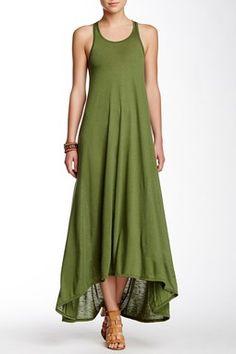 Slub Maxi Dress