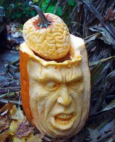 mal ein anderer halloween kürbis