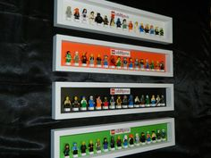 Handmade Display case for LEGO minifigure by MissIrisCreations
