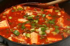 i eat food » Soon Tubu JJigae (Soft Tofu Stew) I made this soup today, and it was great! I only added 1/4 of the spice and it was still SUPER spicy