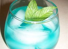 Baja Mojito....The Perfect Summer Cocktail! Minty and Fresh...