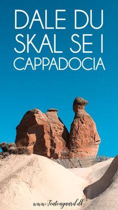 7 dale du skal se i Cappadocia - Rejsebloggen TeaTougaard.dk Pamukkale, Cappadocia, Movie Posters, Movies, Films, Film Poster, Cinema, Movie, Film