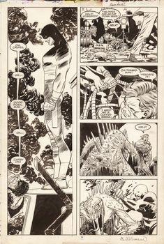 Daredevil Romita JR Comic Art