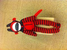 Devilish sock monkey
