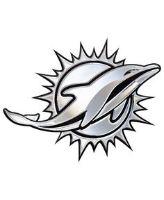Stockdale Miami Dolphins Auto Sticker