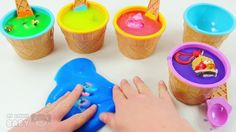 Learn Colors Slime & jelly Clay Surprise Toys for KIDS   Educational Vid...