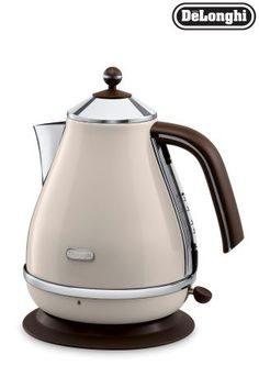 Buy Delonghi Vintage Cream Icona Kettle from the Next UK online shop
