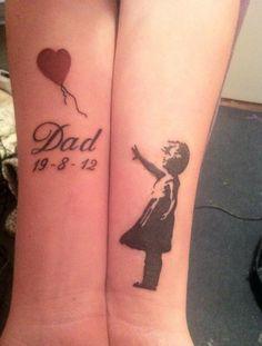 Memorial tattoo (sorta kinda close to it)