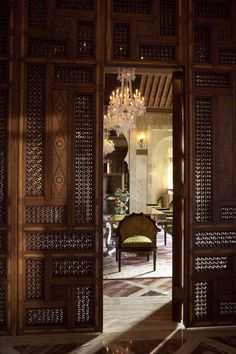 """Step Into a Palace —The New Royal Mansour Hotel in Marrakech    """"The beauty of Moroccan palaces is made up of details of ornament and r..."""