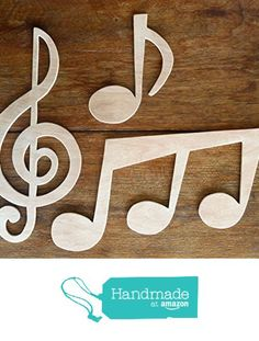 """Beautiful Large Sized Hand Crafted MDF 'Music Notes' Drawing Templates - Treble Clef Approx 9"""" Tall from The Andromeda Print Emporium https://www.amazon.co.uk/dp/B01KC2C7EW/ref=hnd_sw_r_pi_dp_irURxbVN879PX #handmadeatamazon"""