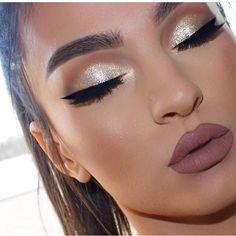 5523a710e 22 mejores imágenes de maquillaje para vestido azul