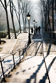 Steps at Montmartre, Paris France Montmartre Paris, Paris France, Places To Travel, Places To See, Paris Ville, Paris City, Paris Paris, I Love Paris, Paris Travel