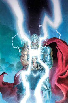 Thor: God of Thunder No. 25 Cover Marvel Comics Poster - 30 x 46 cm Marvel Dc Comics, Hq Marvel, Fun Comics, Marvel Heroes, Comic Book Artists, Comic Book Characters, Comic Artist, Marvel Characters, Best Comic Books