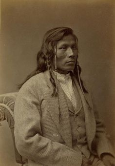 Running Face (the son of Red Buffalo Cow) - Mandan - 1874 ancestor of Cedric Mandan Red Feather ❤ Please visit my Facebook page at: www.facebook.com/jolly.ollie.77