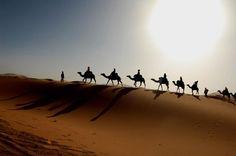 Algerian Desert (Sahara) is the most beautiful desert in the world.
