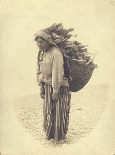 Quinault Woman Washington, 1906.