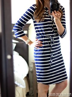 Here is a very casual dress that I could wear on just a random day. Nice colors and I like the style.
