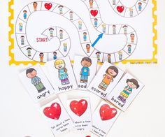 This free printable Emotions board game is perfect for kids who need help learning how to properly express their emotions. Happy, sad, scared, angry and bored are the fun emotions that they will be exploring through play and conversation.