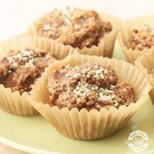 Hemp Heart Muffins - substitute pumpkin for the banana and add THM Sweet Blend to sweeten
