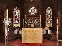 Altar | encyclopedia article by TheFreeDictionary Common Prayer, Anglican Church, The Tabernacle, Indian Temple, Eucharist, Altars, Roman Catholic, Crucifix, Deities