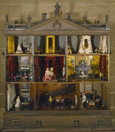 The Nostell Priory doll's house: A remarkable time capsule of the taste in country house interiors of the 1730s (photo ©National Trust Images/Mark Fiennes)